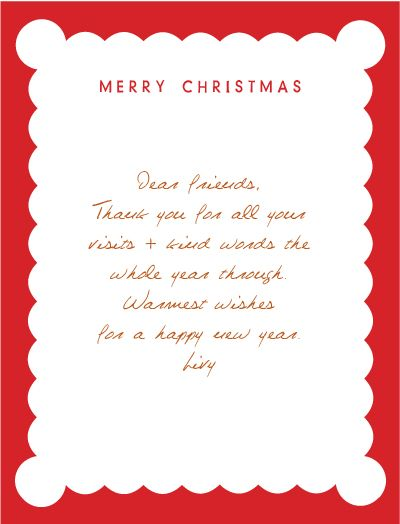 Sweet words for a christmas card | Crafts: Christmas | Pinterest ...