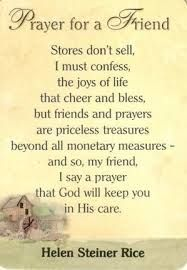 image result for inspirational prayer for sick friend