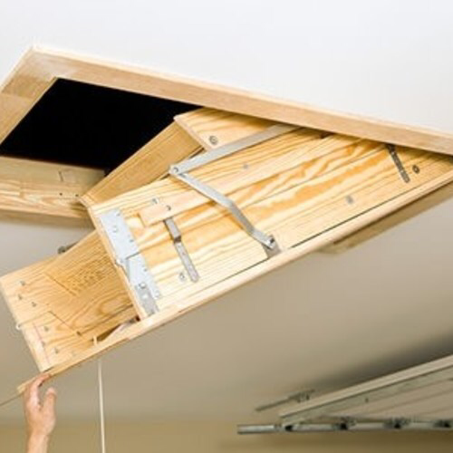 How to Insulate and Air Seal an Attic Hatch (2020) Attic