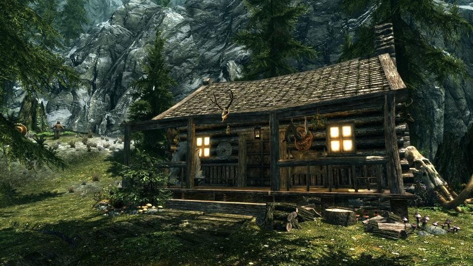 Hunters Cabin of Riverwood SSE at Skyrim Special Edition