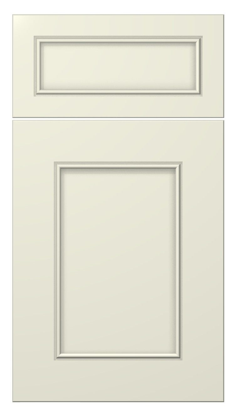 Stratford door style painted antique white kitchen cabinets doors