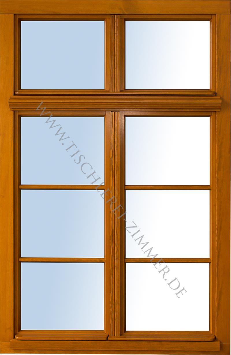 ... lasiertes Denkmalschutzfenster mit schmalen Profilen