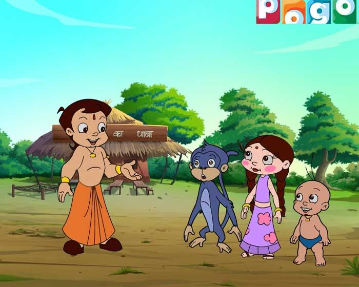 Chhota Bheem on POGO Best Cartoons on TV Pinterest Cartoon and TVs - best of chhota bheem coloring pages games