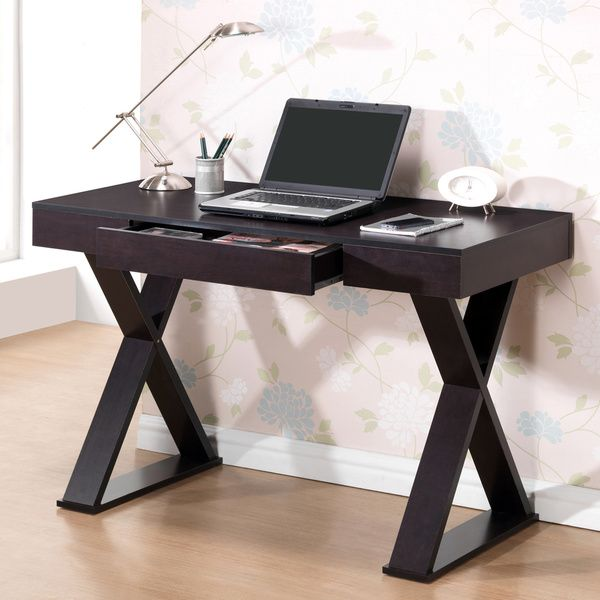 enterprises modern designs x-leg laptop computer home office desk