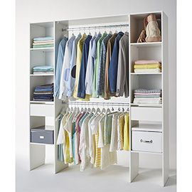 Kit Dressing 2 Colonnes Blanc 200 X 180 X 40 Cm Dressing Castorama Castorama Dressing Chambre