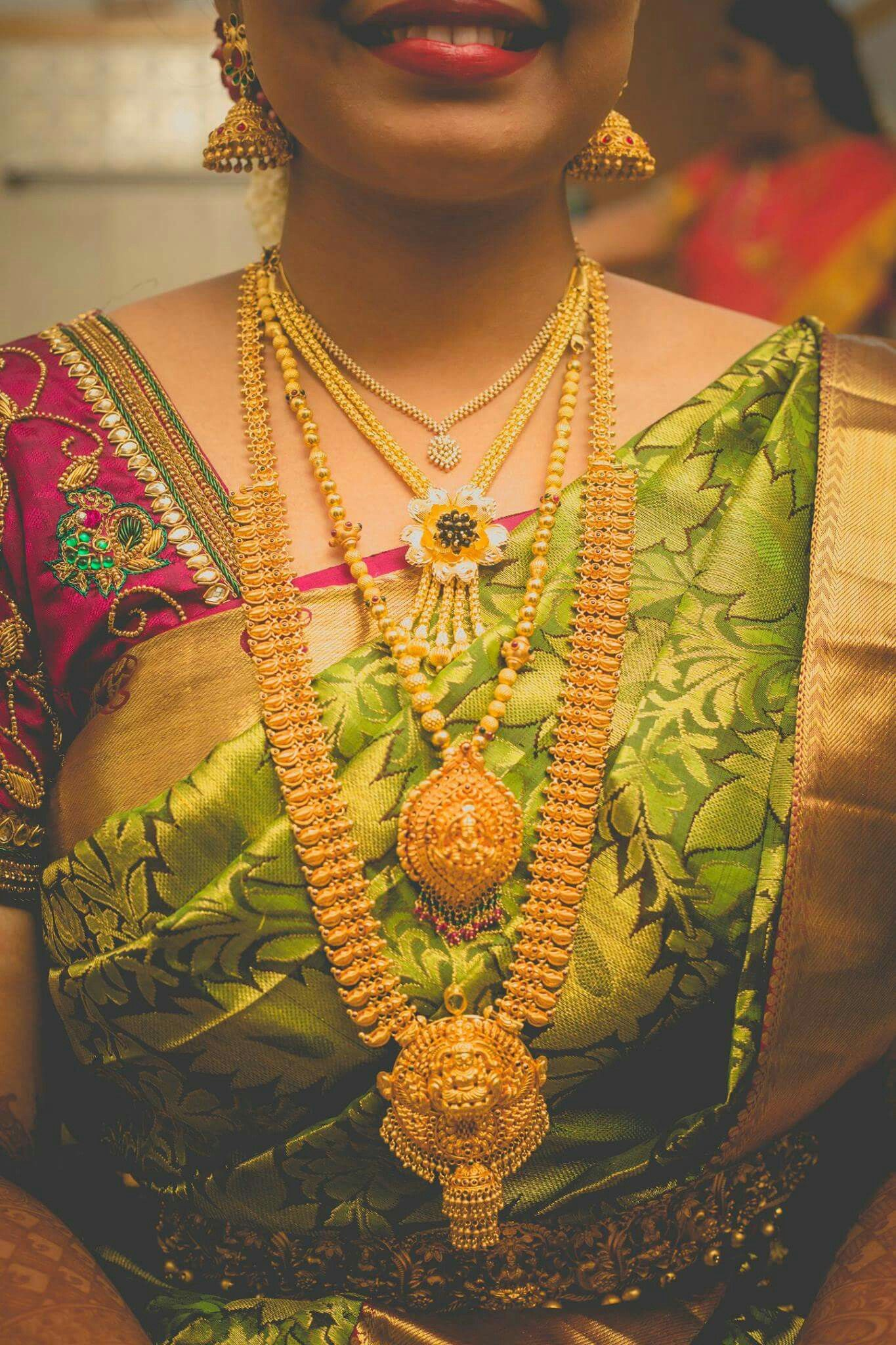 Pin by Almeena on * jewellery * Gold fashion necklace