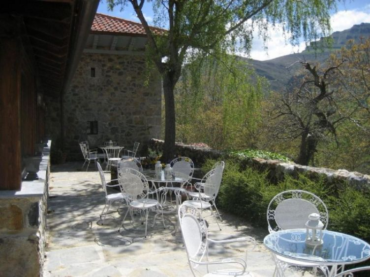 Casa de quintana, Basque country, Spain, terrace