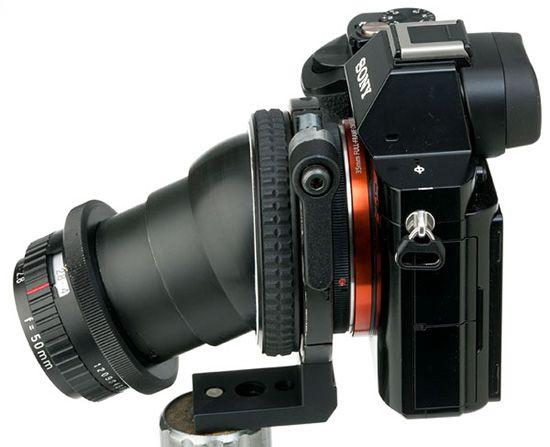 Tilt-shift-system-for-Sony-a7-cameras | camera | Sony camera