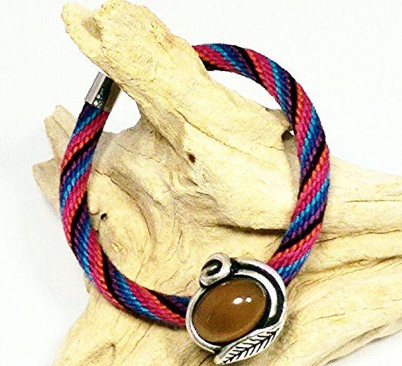 Kumihimo Jewelry, Unisex Kumihimo Cuff Bracelet, Kumihimo Cuff, Cuff Bracelet, Stack Bracelet, Cuff Jewelry, Unisex Jewelry, Color Changing $14.99