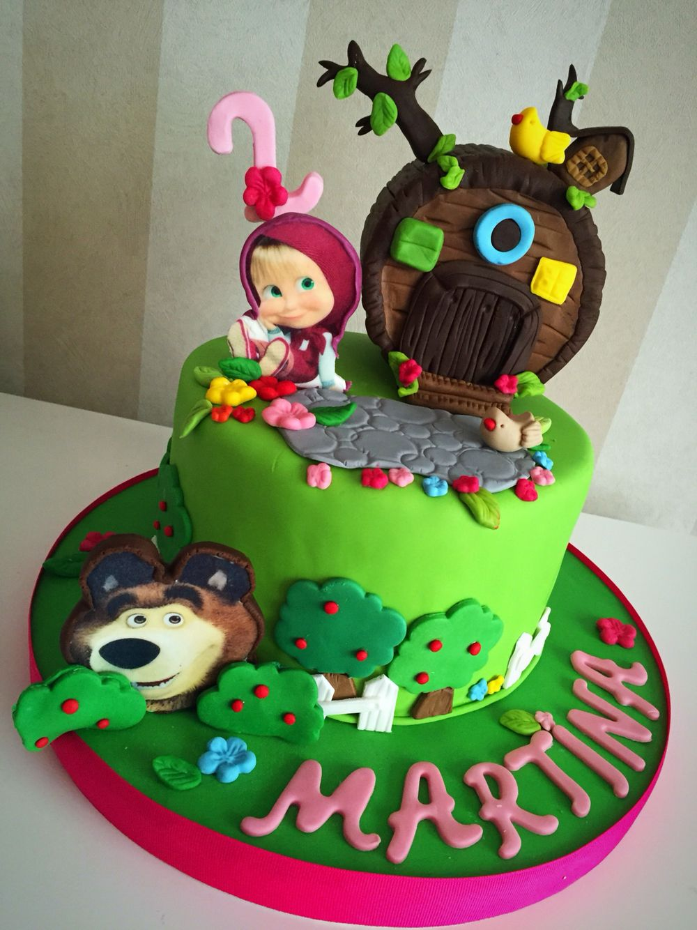 Masha and the bear cake Birthday Pinterest Bear cakes Bears