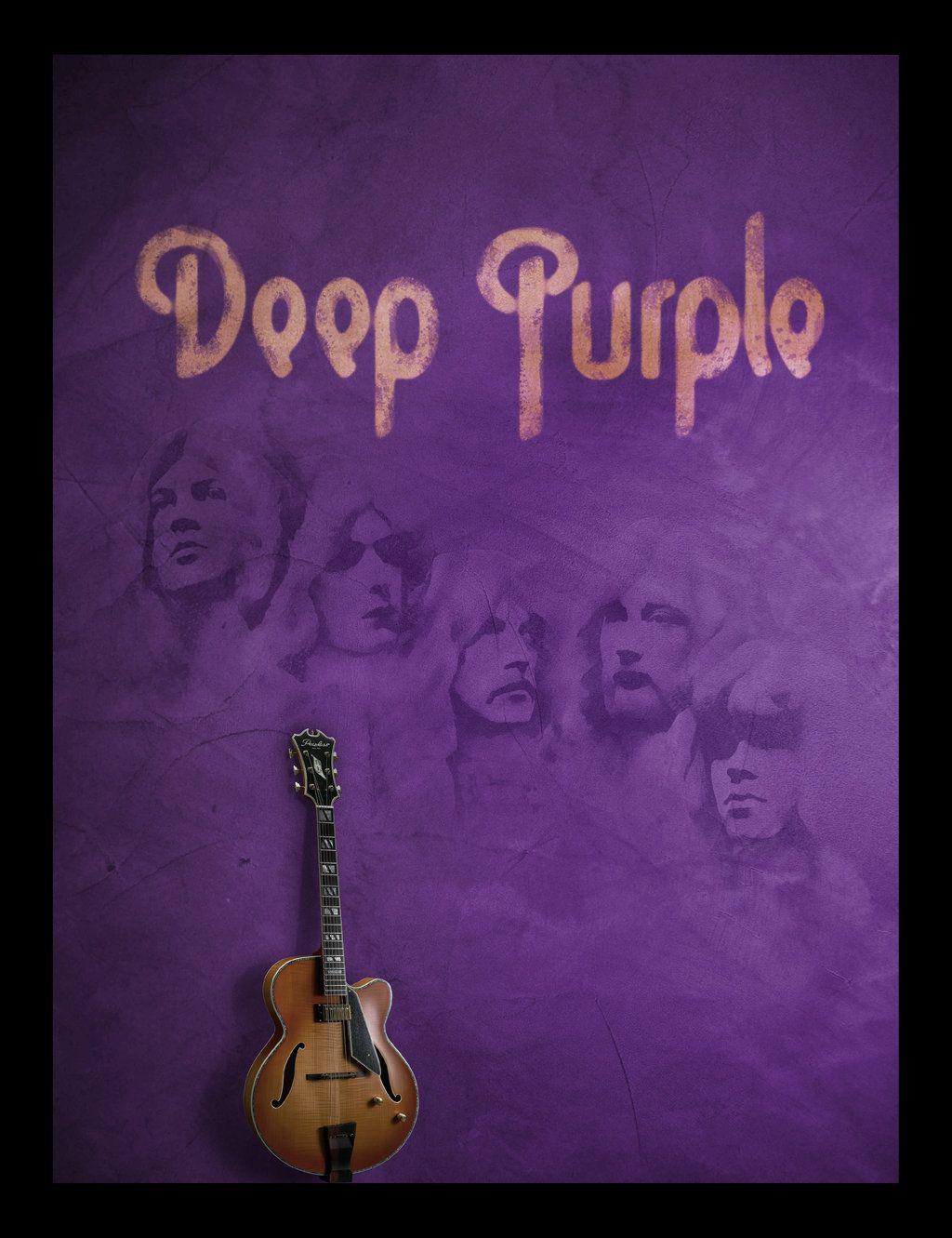 Deep Purple Poster By Searchingmyafflatus On Deviantart Rock Album Covers Deep Purple Rock Posters
