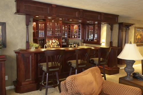 Home Bar. | Around the house | Pinterest | Home bars, Bar and Home