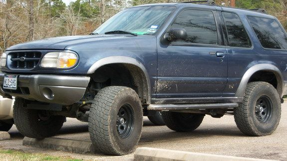 Ford Explorer 5 Inch Lift And 33 Inch Wheels In 2020 Ford Explorer Lifted Ford Explorer Ford