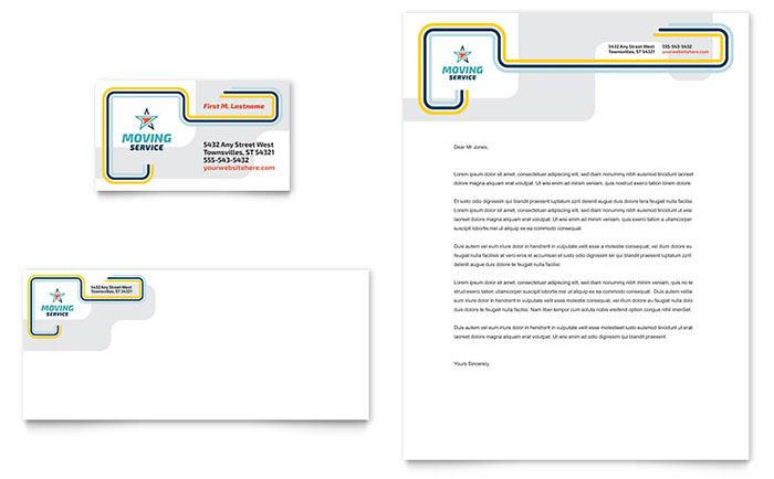 Sample Company Letterhead Template Download Psd Pdf Business Cards