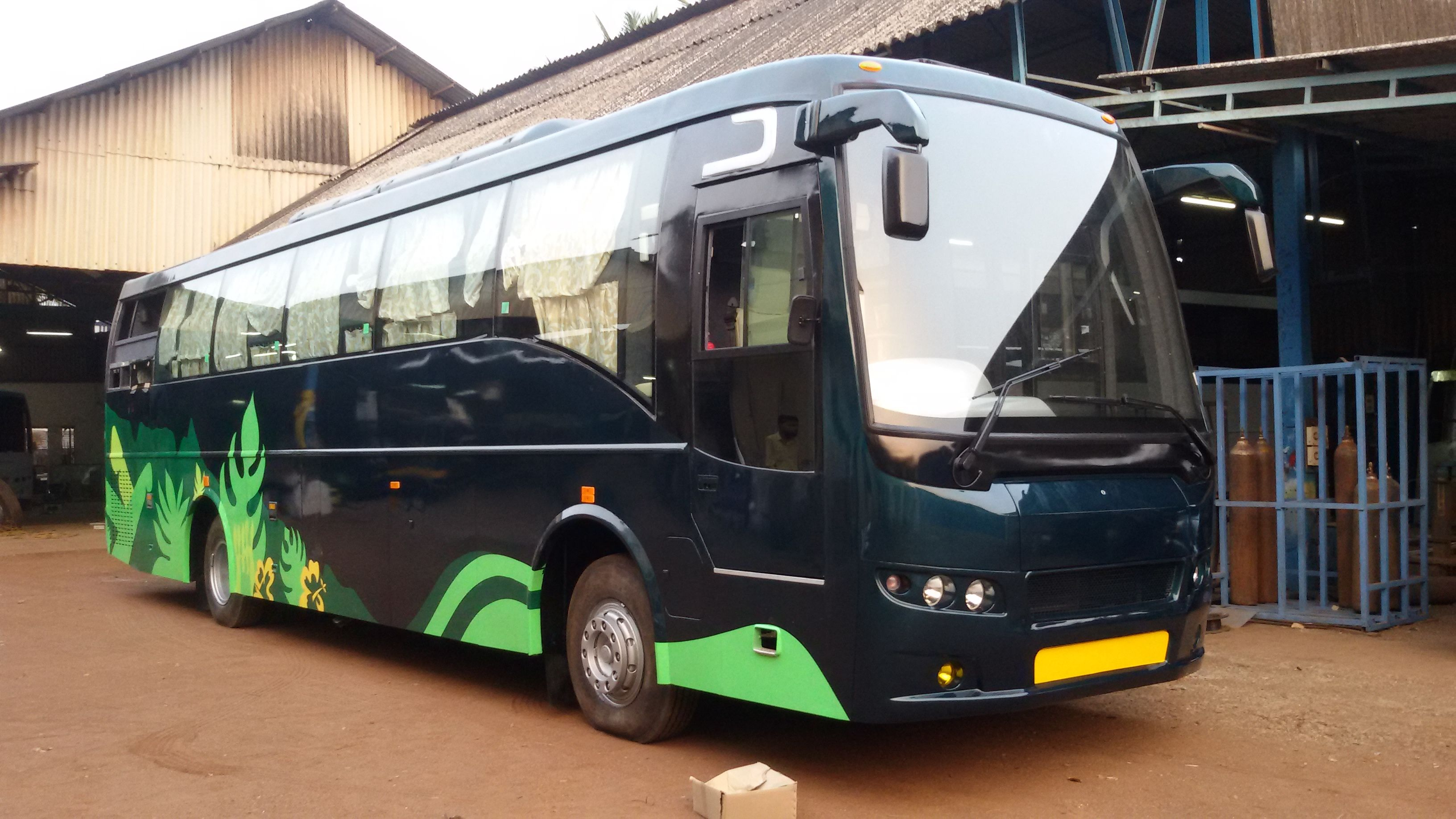 Bus Body Builder In Bangalore Goa A C And Non A C Luxury Coach Buses Bus Body Builder Builder