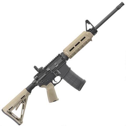 Ruger MOE AR-556 AR-15 Semi Auto Rifle 5.56 NATO 16 ...