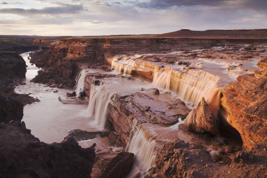 Grand Falls, Flagstaff, AZ // Hailey Golich Photography