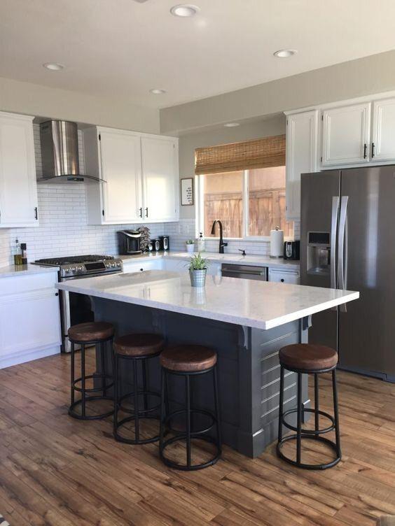 Kitchen Island Inspiration [Montenegro Stone House Renovation Vision Board]