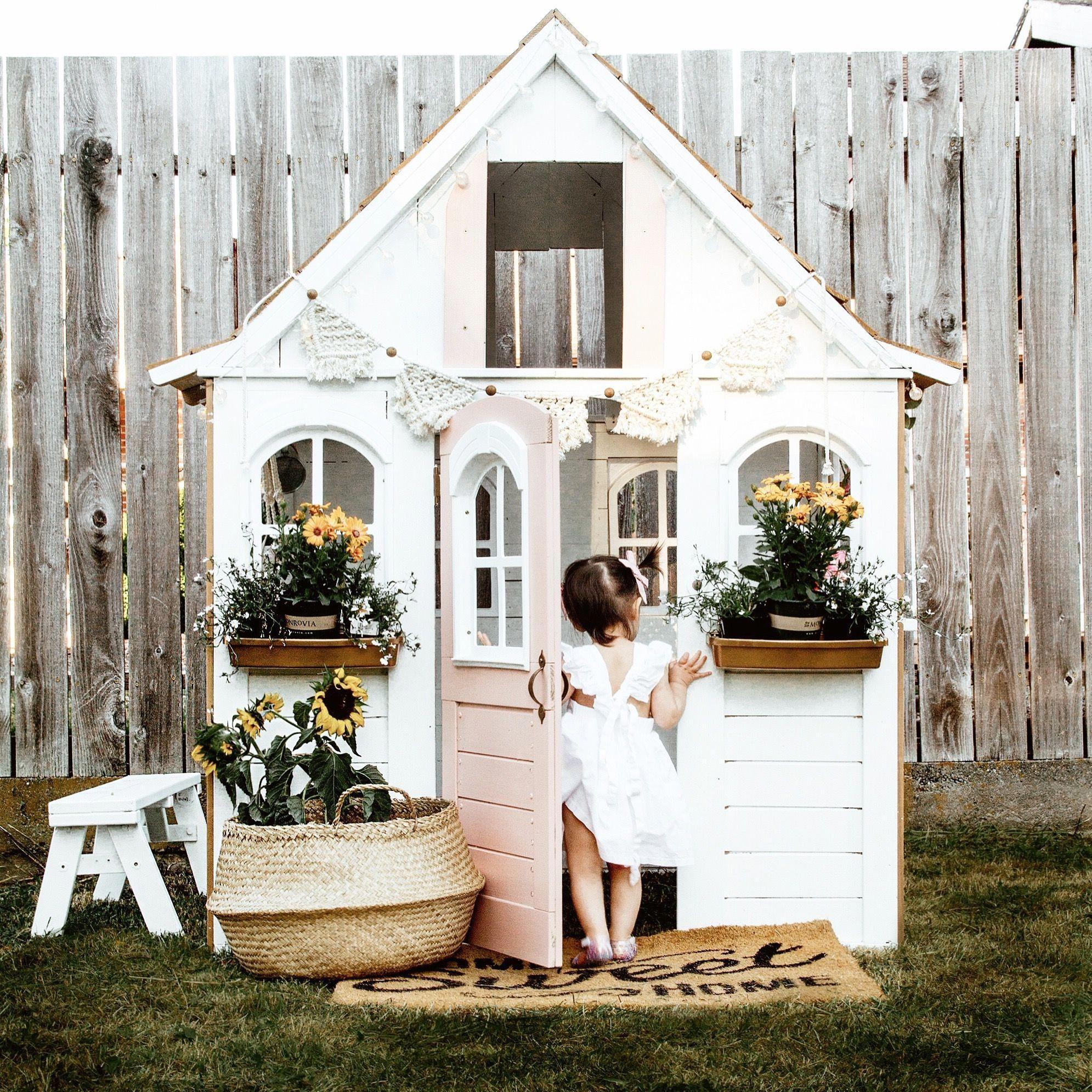 how to build a playhouse diy