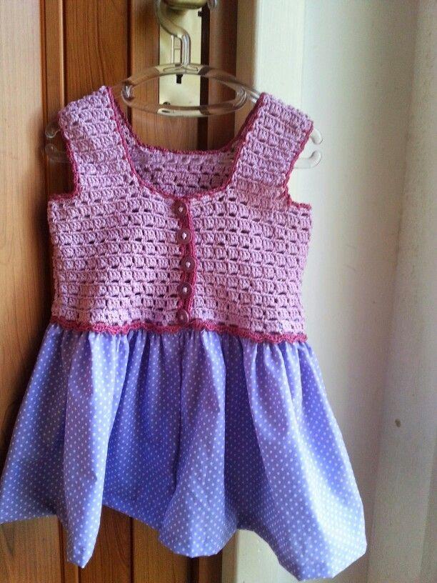 Petite robe crochet