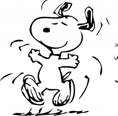 The Snoopy Dance!  Always makes me happy!  :-)