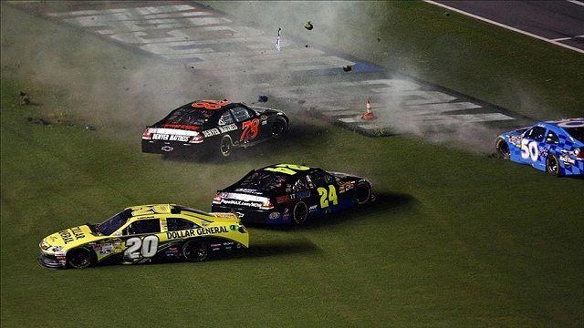 NASCAR: Top five wrecks in the 2012 season | NASCARNews | Pinterest