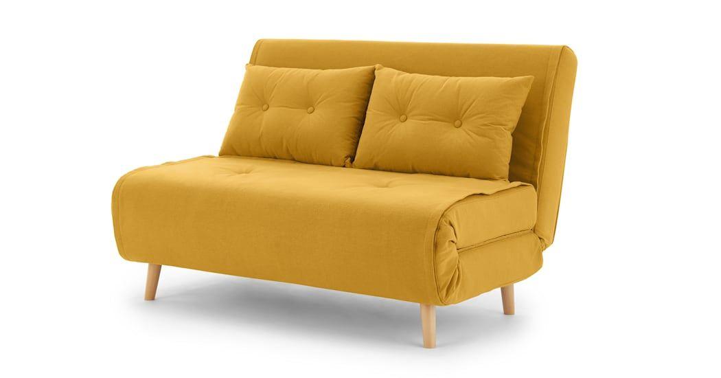 Best Haru Kleine Slaapbank Botergeel Small Sofa Sofa Bed 400 x 300