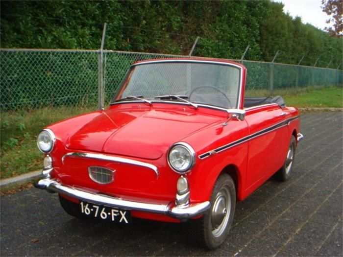 1968 autobianchi bianchina transformable..