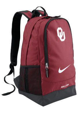 d1e3388eed Nike University of Oklahoma Backpack