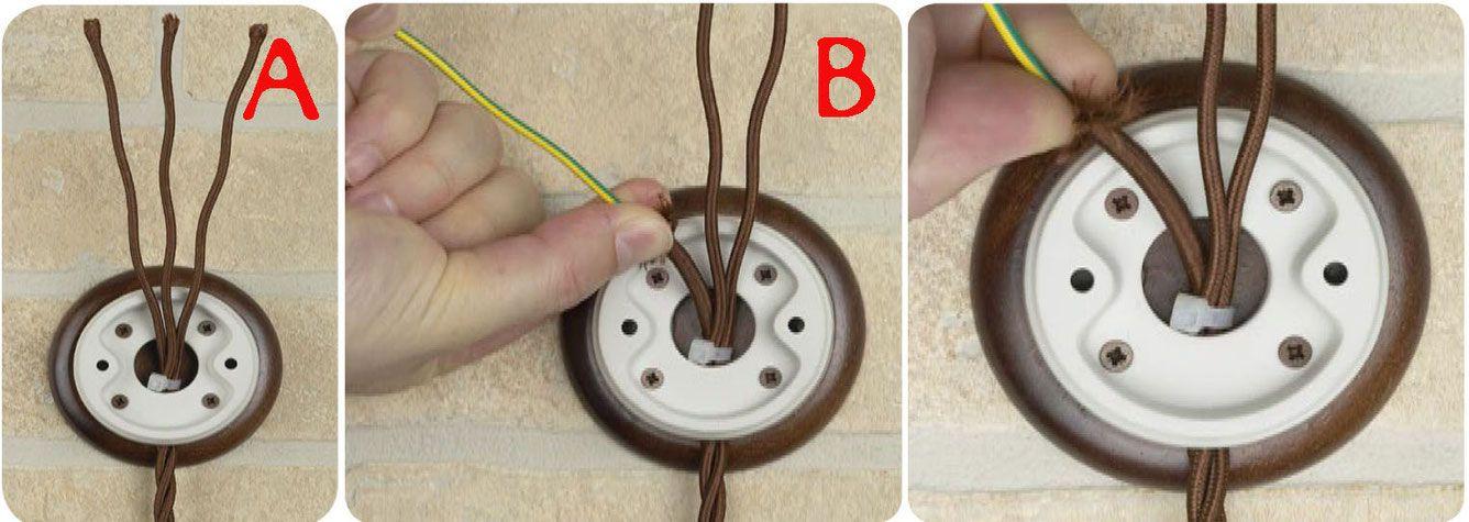 Impianti Elettrici Antichi A Vista C Era Una Volta Come Utilizzare I Frutti In Ceramica Ed I Cavi A Treccia Ven Vintage Fai Da Te Utili Cablaggio Elettrico
