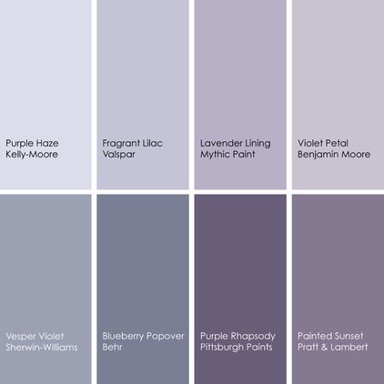Dreaming In Color 8 Enchanting Purple Bedrooms Purple Paint Colors Purple Bedrooms Grey Purple Paint