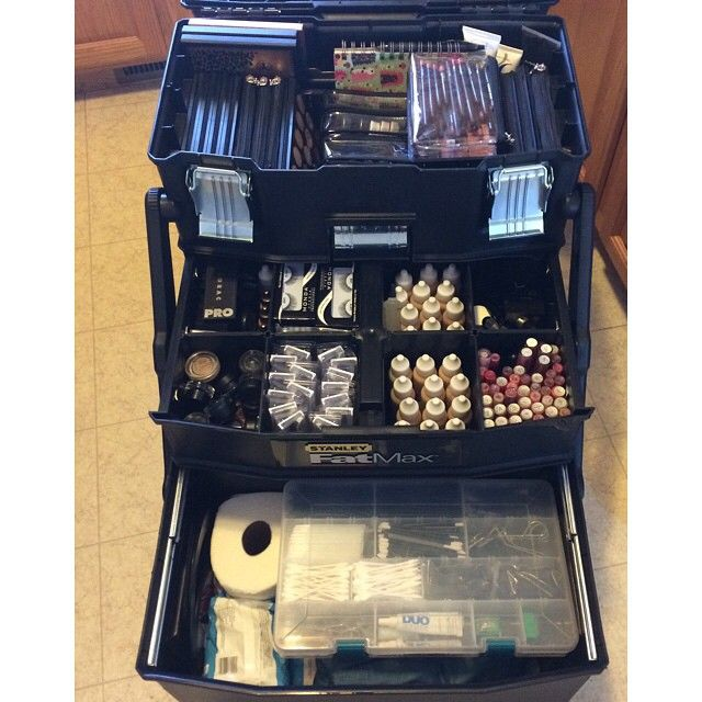 1793f1cdff Stanley FatMax mobile work station for makeup kit storage