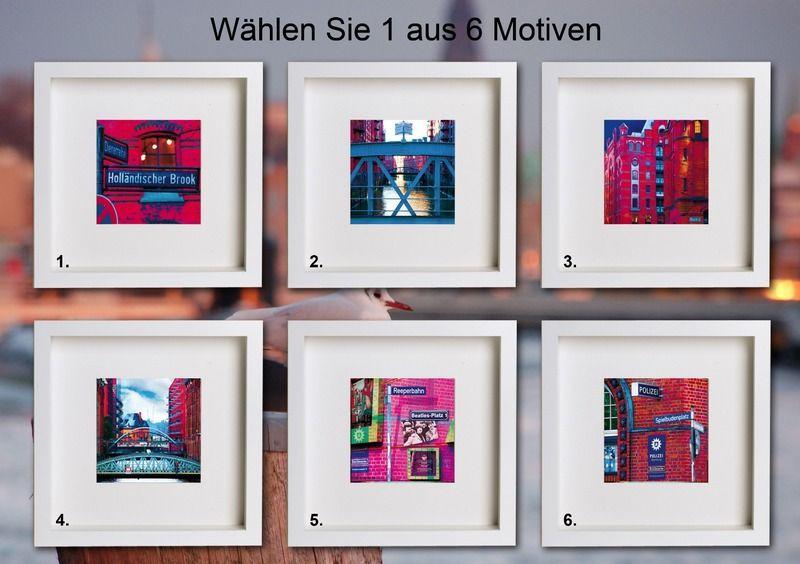 Hamburg MINIS - 1 Speicherstadt Bild aus 6 z. Wahl von Art & Design aus Hamburg auf DaWanda.com
