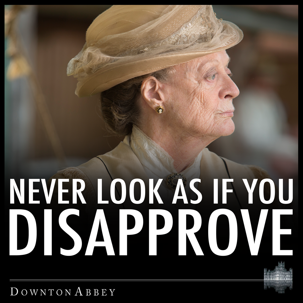 Pin On The Dowager Countess And Company (Downton Abbey