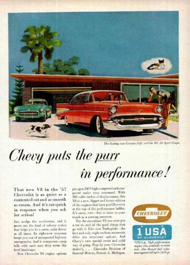 1957 Chevy convertible ads Google Search Automobile