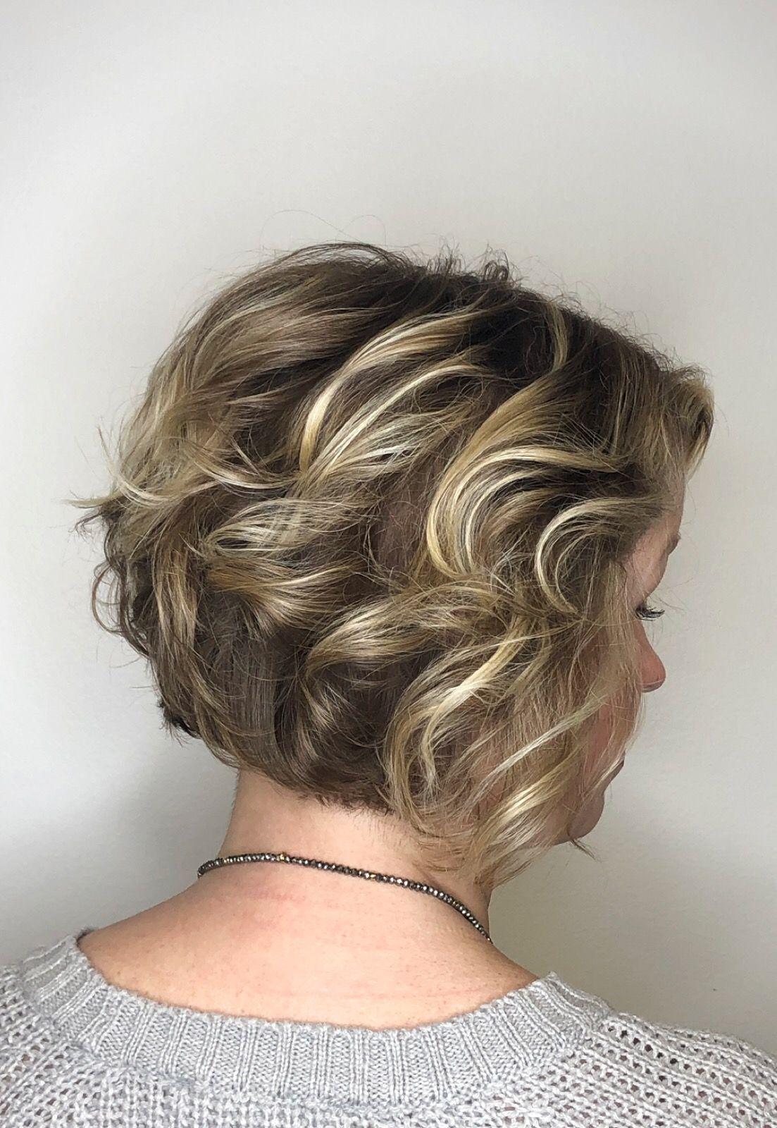 Layered Bob Bobs Haircuts Balayage Highlights Fine Hair