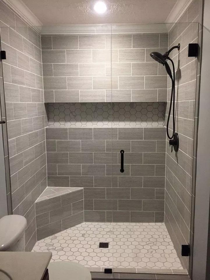 Master Bathroom Walk In Shower Ideas 37 Home Design Ideas Bathroom Remodel Shower Master Bathroom Shower Bathroom Remodel Designs