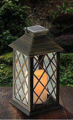 Solar Laterne Laterne Garten Led Kerzen Laterne