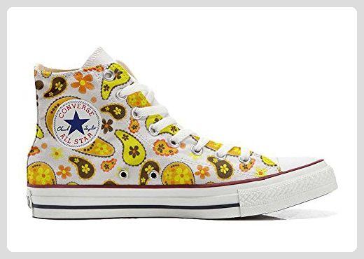 Converse All Star Hi Customized personalisierte Schuhe (Handwerk Schuhe)  Hippie Paisley - associate-degree.de b893ea533e