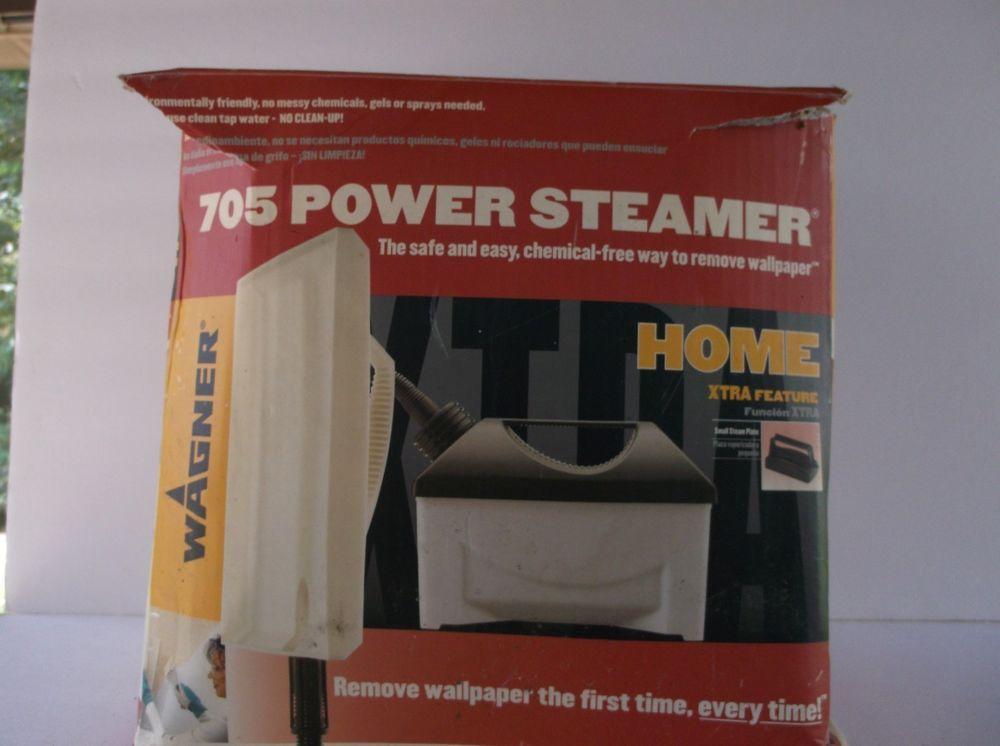 Wagner Power Steamer 705 1500 Watt Wallpaper Remove