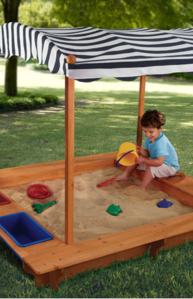 Kids get to dig for treasure and build sand castles in the ...