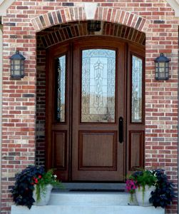 Marvelous Arched Exterior Doors | Bellagio