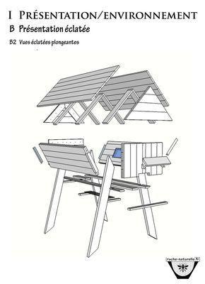 comment construire une ruche horizontale avec des palettes projets essayer pinterest. Black Bedroom Furniture Sets. Home Design Ideas