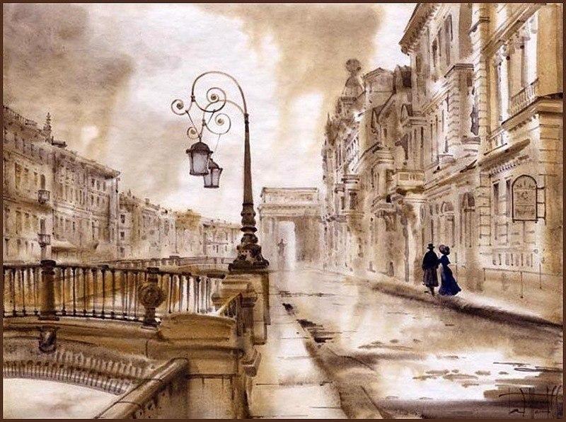 Петербург. Сабир и Светлана Гаджиевы