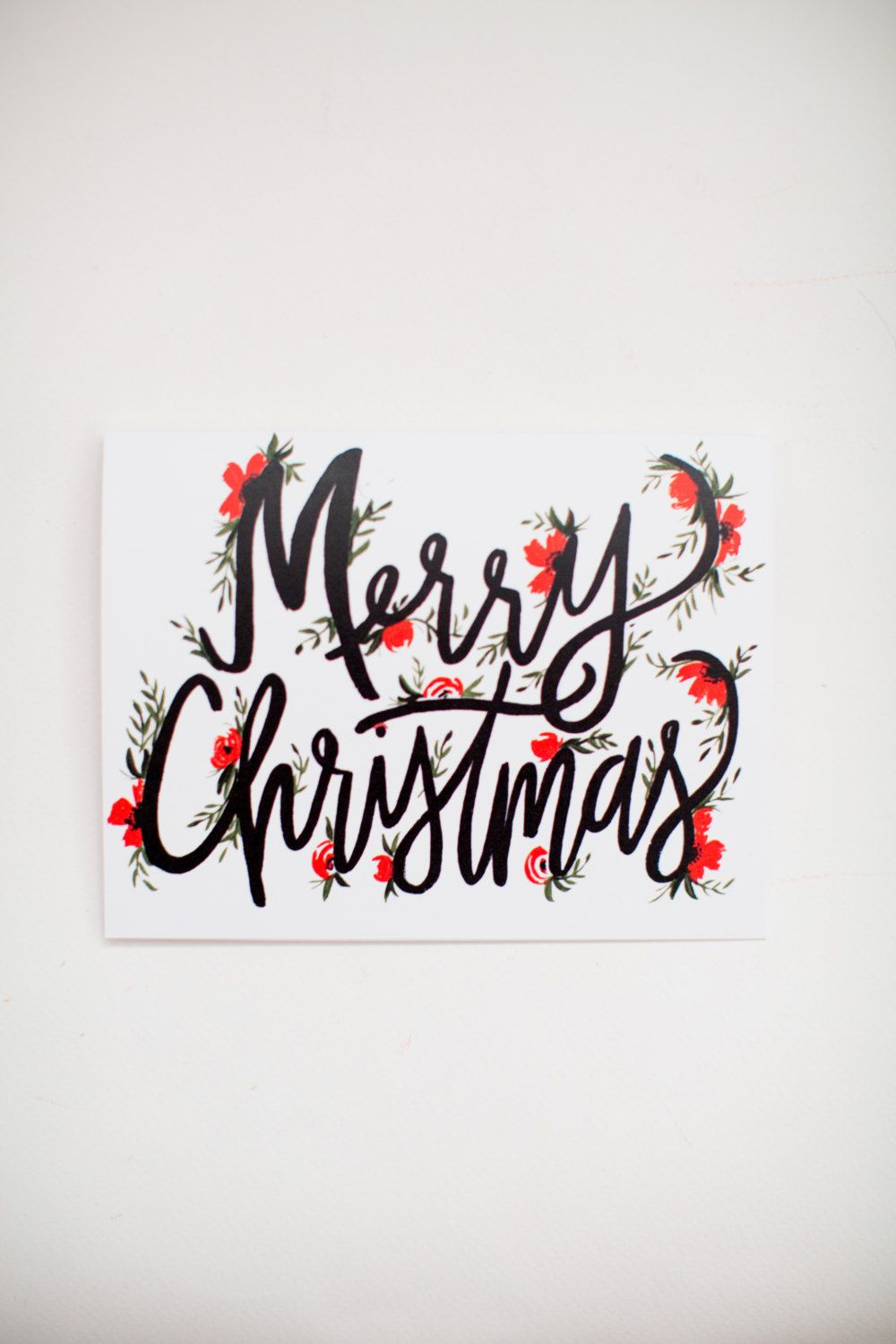 merry christmas lettering christmas cards hand lettering