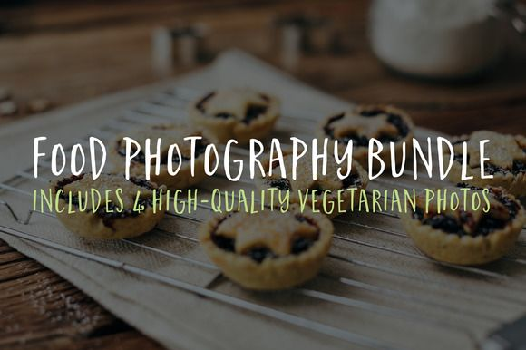 Food Photography Bundle Set 1 by Food & Tech Photography on Creative Market