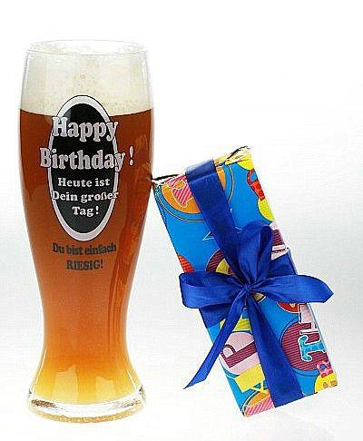 Riesen Bier Glas Happy Birthday Gegen Den Riesendurst 19 90