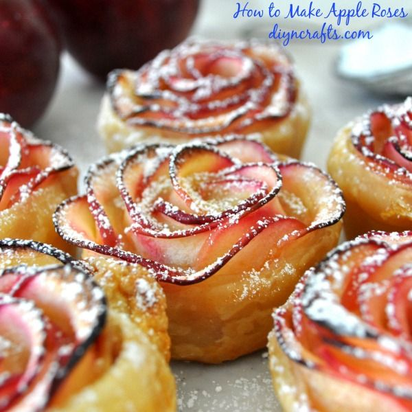 How to Make Apple Roses – the Dainty, Delectable, Drool-Inducing Dessert #apfelrosenblätterteig
