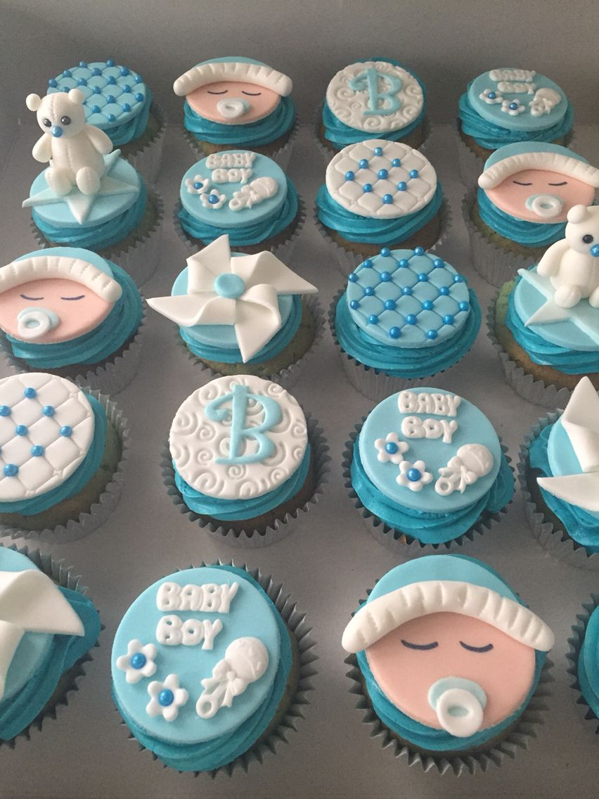 Babyshower Cupcakes Baby Shower Cupcakes For Boy Baby Shower