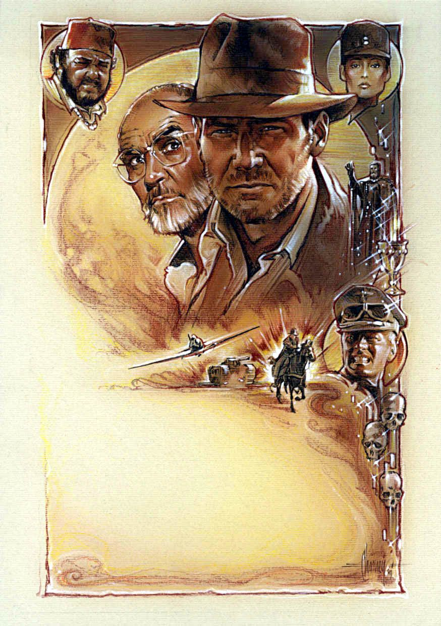 Indiana jones and the last crusade concept by steven